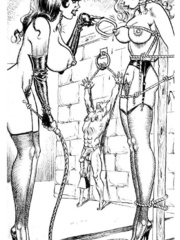 Lots of violence and dirty painful sex - BDSM Art Collection - Pic 2