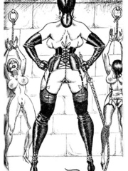 Lots of violence and dirty painful sex - BDSM Art Collection - Pic 4