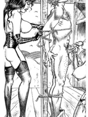 Lots of violence and dirty painful sex - BDSM Art Collection - Pic 8