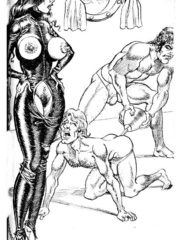 Lots of violence and dirty painful sex - BDSM Art Collection - Pic 10