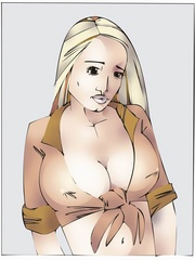 Gets high watching cool fetishartwork - BDSM Art Collection - Pic 1