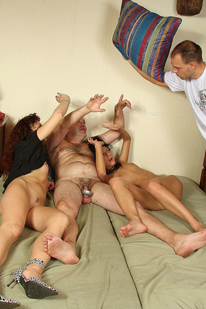 Horny man licking his wife's cunt when d - XXX Dessert - Picture 30