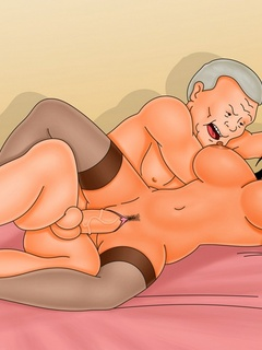 Sexy cartoon chicks spread their legs for cocks in - Picture 2
