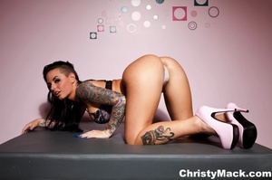Unique tattooed pornstar with awesome ti - XXX Dessert - Picture 7