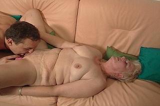 horny guy enjoys pleasing