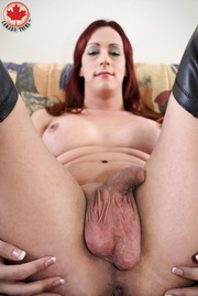 slutty ginger ladyboy black