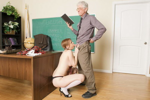 Dirty pigtailed school girl in the unifo - XXX Dessert - Picture 15