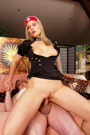 Lustful blimp in glasses pretends to be  - XXX Dessert - Picture 6