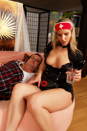 Lustful blimp in glasses pretends to be  - XXX Dessert - Picture 12