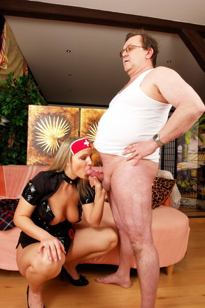 Lustful blimp in glasses pretends to be  - XXX Dessert - Picture 15