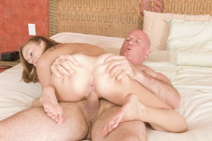 Lustful bald old boy pleasing fresh blon - XXX Dessert - Picture 9