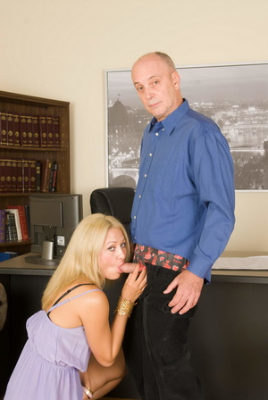 Slutty long-haired blonde bitch jumping  - XXX Dessert - Picture 13