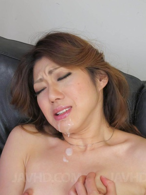 Lustful Asian mom undresses to pound her - XXX Dessert - Picture 15