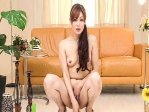Ponytailed Asian mom undresses to pound  - XXX Dessert - Picture 11