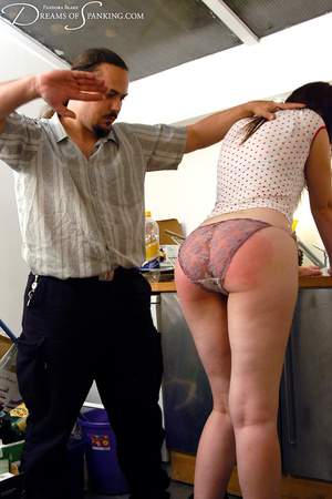 Ponytailed dude spanking a red chick wit - XXX Dessert - Picture 3