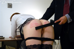 Big boss gets horny when spanking his gi - XXX Dessert - Picture 12
