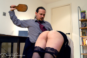 Hot secretary in glasses and stockings g - XXX Dessert - Picture 22