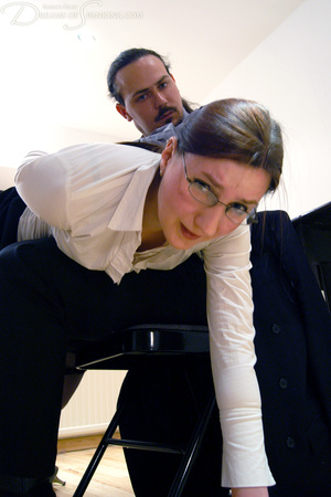 Hot secretary in glasses and stockings g - XXX Dessert - Picture 27