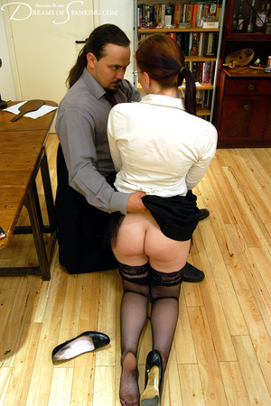 Hot secretary in glasses and stockings g - XXX Dessert - Picture 28