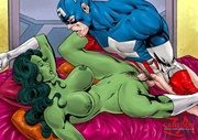 exquisite superheroes gratify their