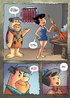 Awesome drawn porn story with Betty Rubbles and Fred Flintstones licking