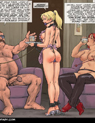 Very hot enslaved girls in cuffs and chains getting tortured violently