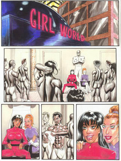 Magnificent porn comics with cool chick in a pink - Picture 1