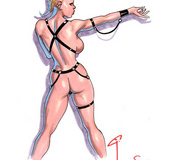Wonderful drawn porn stories with participation of busty chicks are here