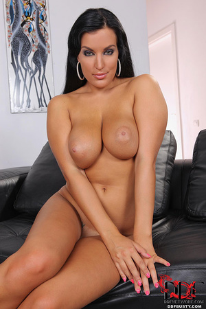 Bodacious brunette babe in a sexy dress  - XXX Dessert - Picture 15