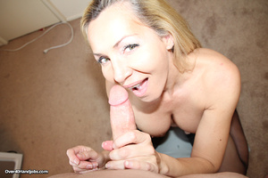 Nasty blonde milf undresses to give a ho - XXX Dessert - Picture 7