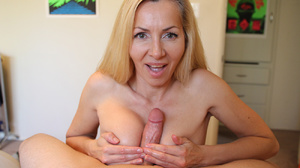 Nasty blonde milf undresses to give a ho - XXX Dessert - Picture 11