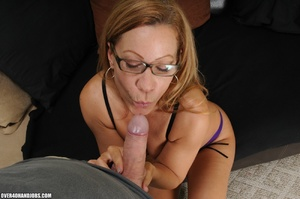 Dirty blonde milf in lingerie gets mouth - XXX Dessert - Picture 6
