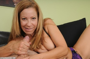 Dirty blonde milf in lingerie gets mouth - XXX Dessert - Picture 10
