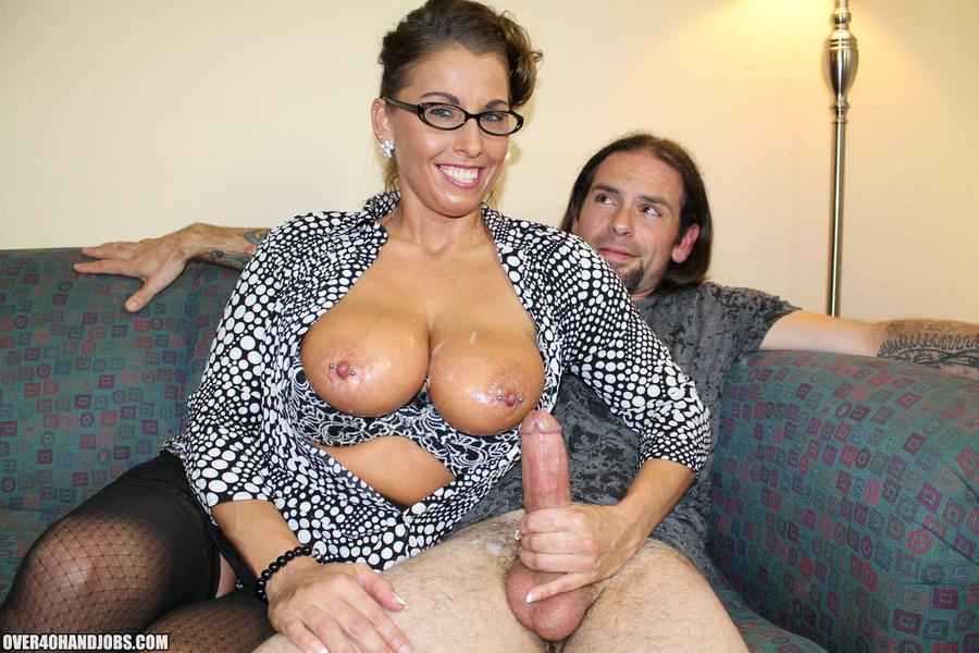 Hot milf with glasses