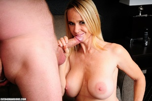 Experienced blonde mom gets nude to give - XXX Dessert - Picture 11