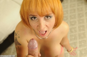 Nasty red secretary takes cool facial af - XXX Dessert - Picture 8