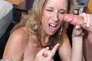 lustful blonde mom black
