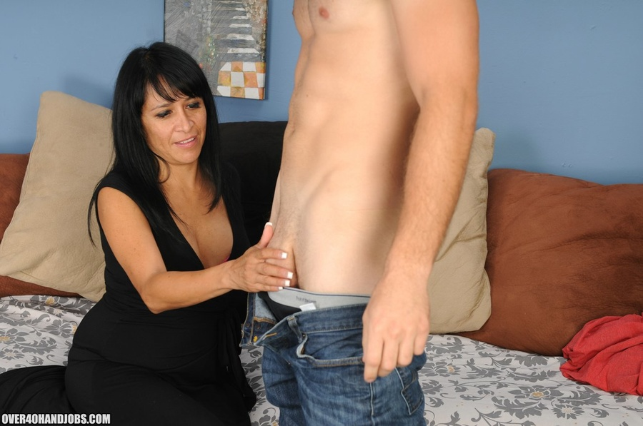 Step mom handjob with isabella montoya over handjobs