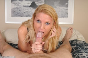 Nasty blonde milf in a funny lingerie sw - XXX Dessert - Picture 6
