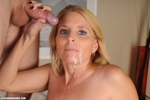 Nasty blonde milf in a funny lingerie sw - XXX Dessert - Picture 11