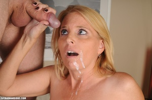 Nasty blonde milf in a funny lingerie sw - XXX Dessert - Picture 12