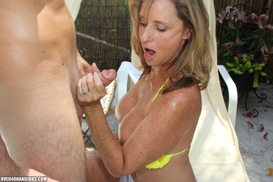 Comp blonde milf handjob think