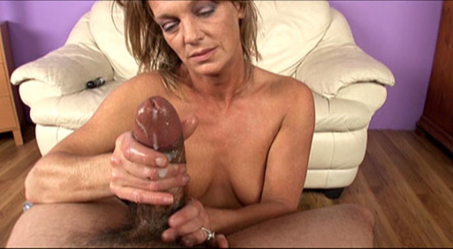 Vaginal cumshot granny