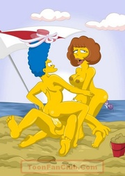 hot marge simpson and