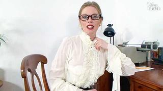 lustful secretary glasses vintage