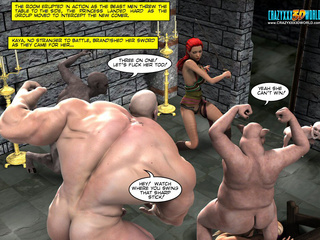 Cool 3d porn comics with horny goblins and ogres - Picture 2