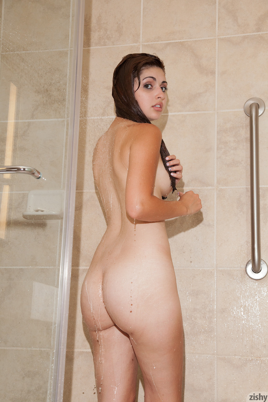 Hot Teen Girl In Shower