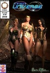 Three hot busty chicks get enchained and tortures in the basement of the