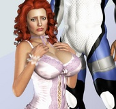 Bodacious 3d porn commixes with awesome bdsm artwork