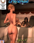 Two kinky masters jeering hot red girl I awesome 3d bdsm toon porn